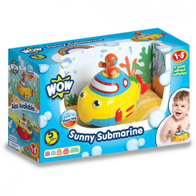 Sunny Submarine by Wow Toys - Little Marshans