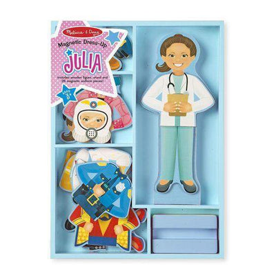 Little Marshans:Julia Magnetic Dress-Up: