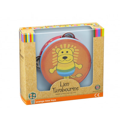 Lion Tambourine by Orange Tree Toys - Little Marshans