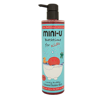Lovely Bubbly Coloured Bubble Bath 500ml by Mini-U - Little Marshans