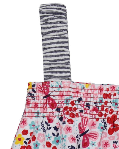 Little Marshans:Fabric Mix Sundress: