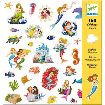 Mermaids Stickers by Djeco - Little Marshans