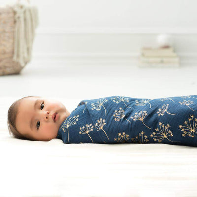 metallic swaddles 3-pack gold deco by Aden & Anais - Little Marshans