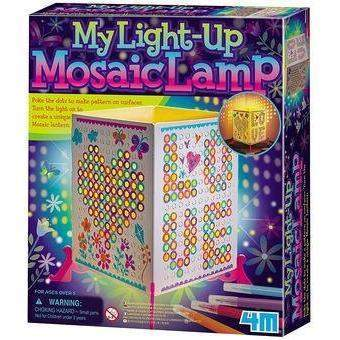 Little Marshans:My Light Up Mosaic Lamp: