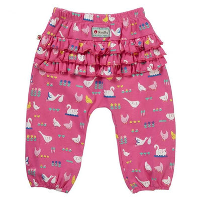 Bird Babble Raffle Trousers - Little Marshans