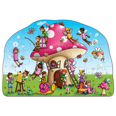 Fairy Cottage Jigsaw Puzzle - Little Marshans