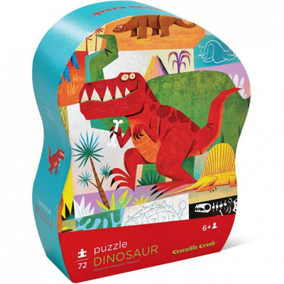 Little Marshans:Junior Shaped Box Puzzles - Dinosaur: