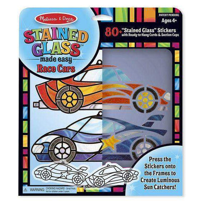 Little Marshans:Stained Glass Made Easy - Race Cars: