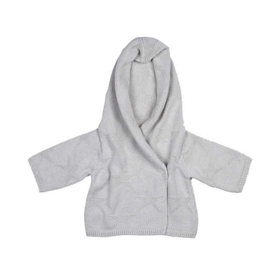 Little Marshans:Star Hooded Cardigan:
