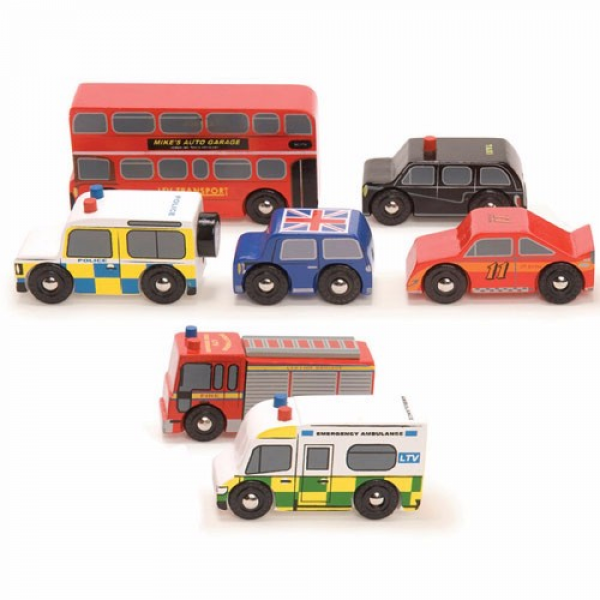 Little Marshans:The London Car Set: