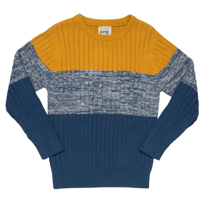 Little Marshans:Tri-Stripe Jumper: