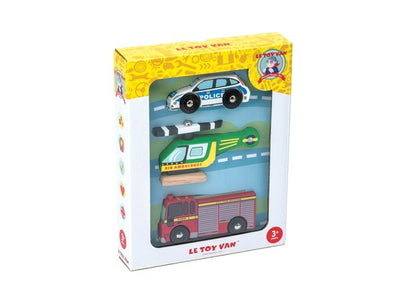 Little Marshans:Emergency Vehicles Set: