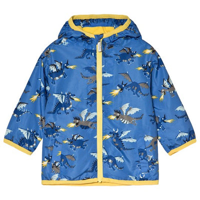 Fire Breathing Dragons Microfiber Rain Jacket