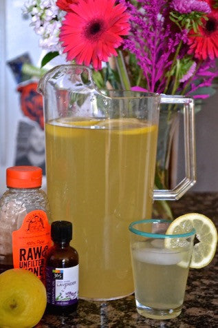 Honey Lavender Lemonade Recipe