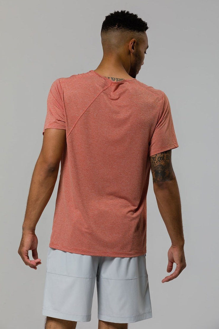 Breathe Scoop Neck Tee - 444 Evergreen