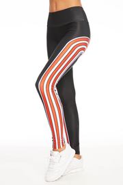 Candy Cane Rainbow Legging - 444 Evergreen