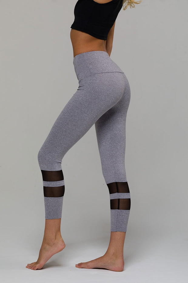 7/8 Racer Midi Legging - 444 Evergreen