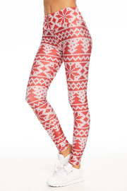 Winter Knit Legging - 444 Evergreen