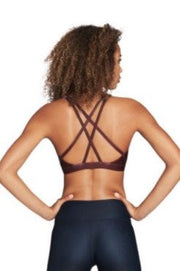 Criss Cross Sports Bra - 444 Evergreen