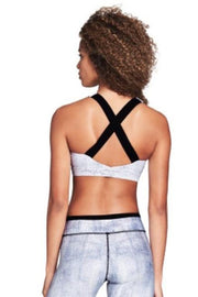 X-Back Sports Bra - 444 Evergreen