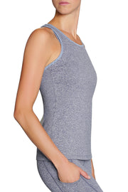 Abigail High Neck Tank - 444 Evergreen