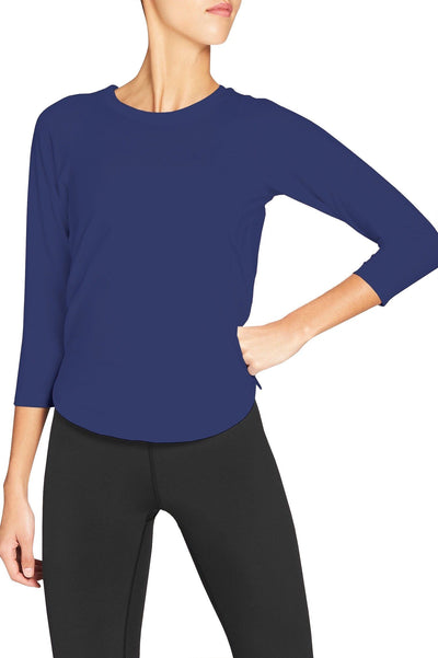 Aly Crossback Long Sleeve - 444 Evergreen