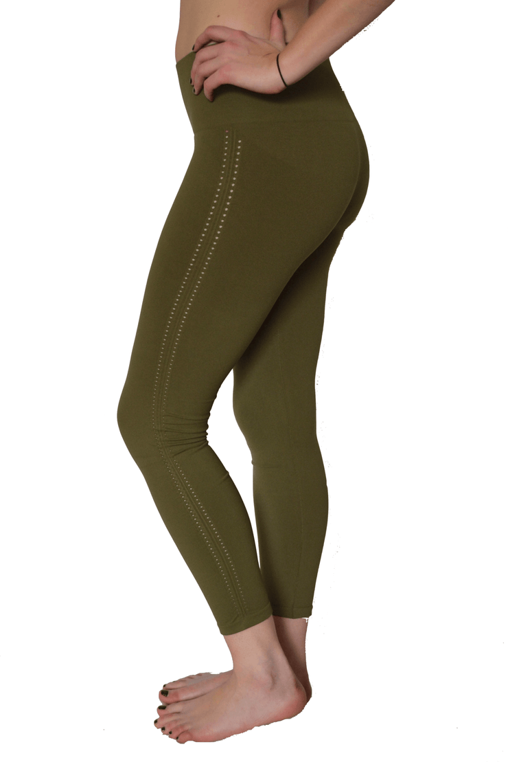 Barely There Legging - 444 Evergreen