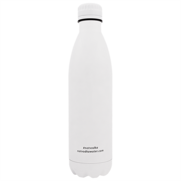 Bullet Bottle in Glossy White - 444 Evergreen