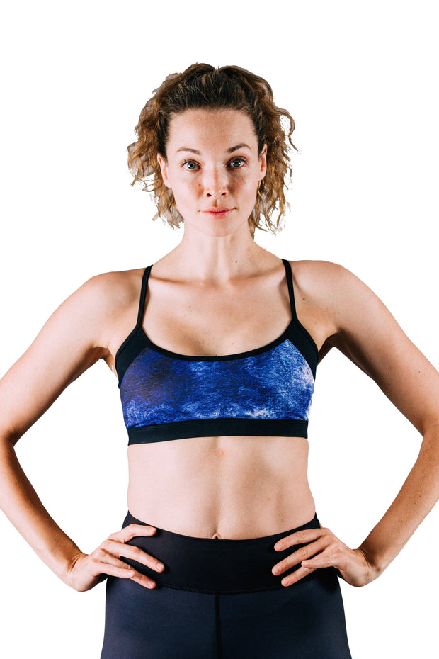 Sage Racerback Sports Bra - 444 Evergreen