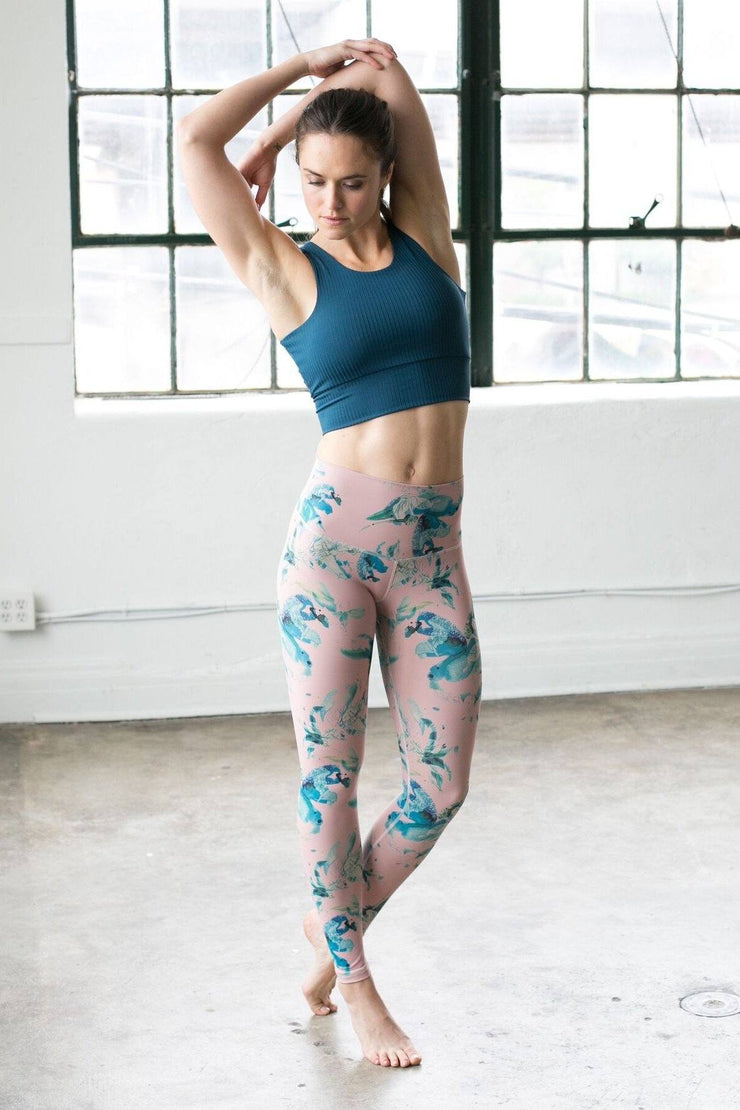 Teal Rose Signature Tight - 444 Evergreen