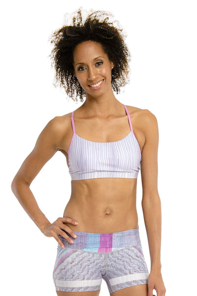 Speed Racer Sports Bra - 444 Evergreen