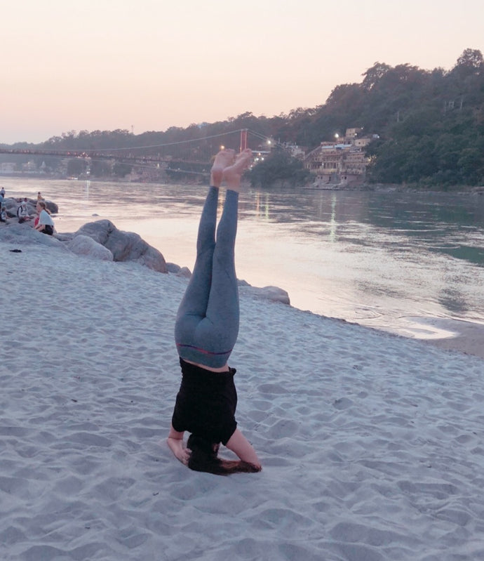 My Yoga Journey - Conquering My Fear of Sirsasana.