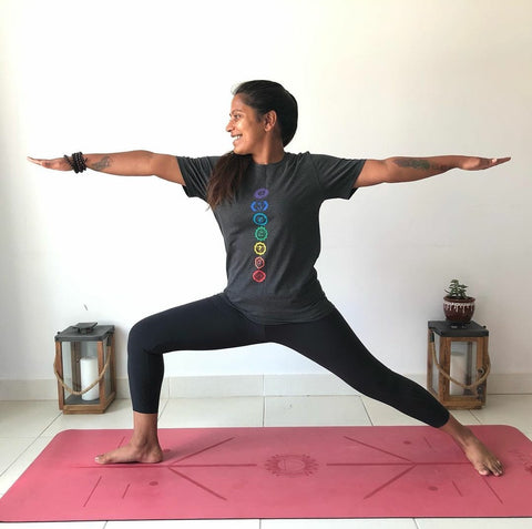 Warrior 2 Pose Kosha Yoga Co
