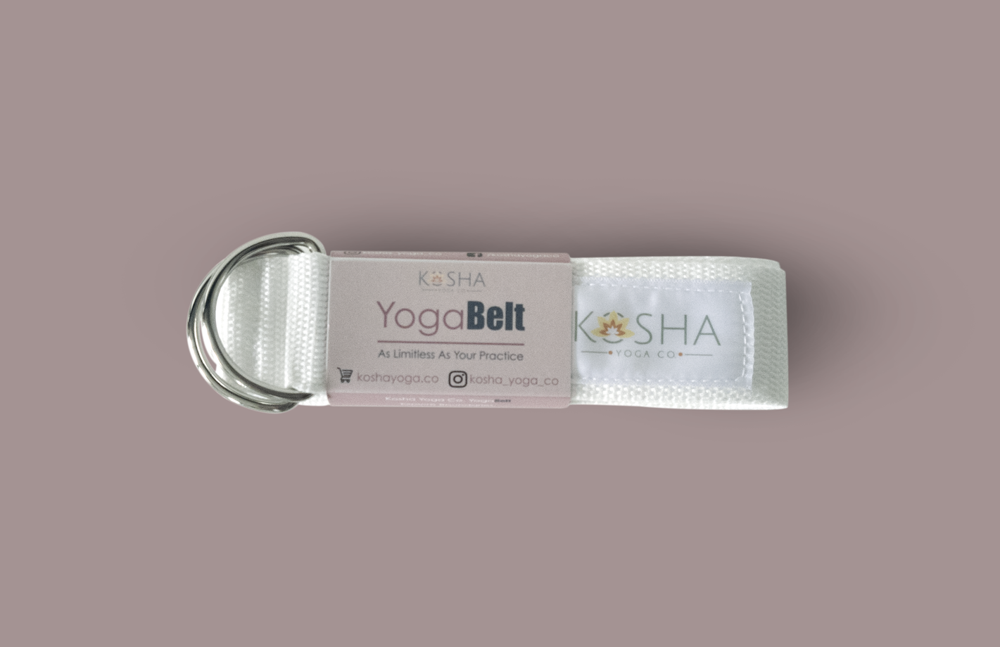 Kosha Yoga Co Yoga Belt Strap