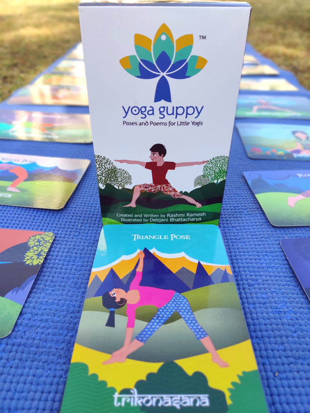 Kosha Yoga Co For Children Yoga Guppy Flash Cads For Kids