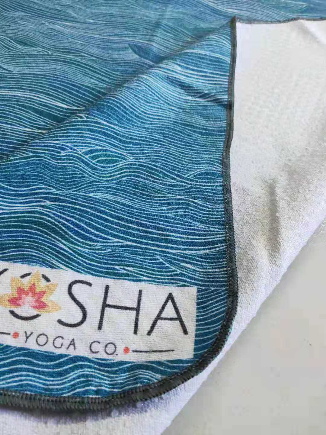Kosha Yoga Co Transform Microfibre Silicone Towel Ocean