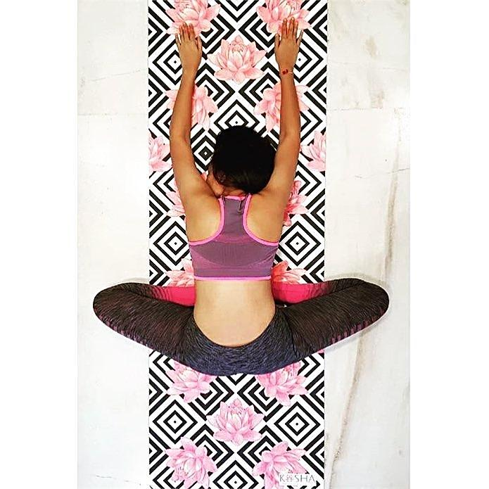 Pankti on Kosha Yoga Co. Infinity Mat