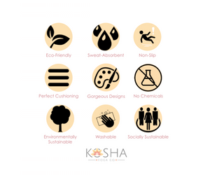 Kosha Yoga CO. Mat Features