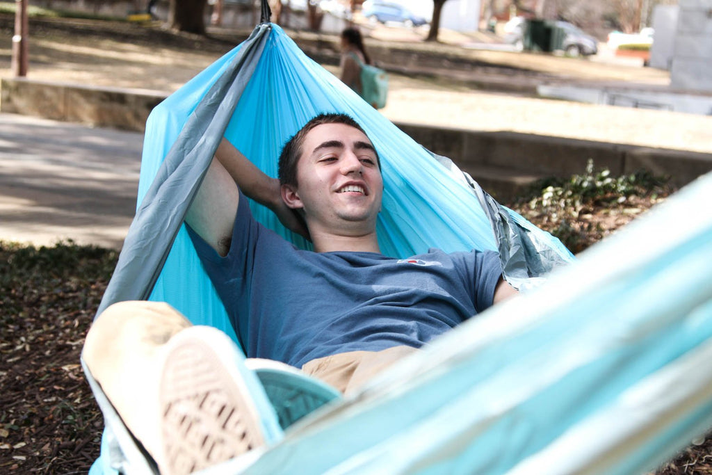 5 Ways To Set Up Your Hammock Without Trees