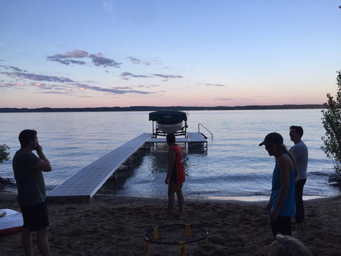 Sunset on Torch Lake