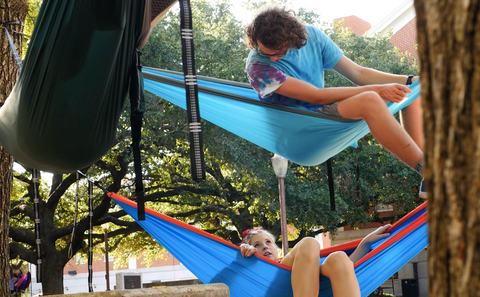 People in Hammocks