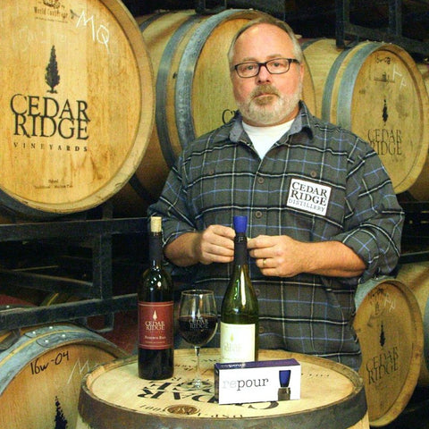 Jeff Quint, Owner of Cedar Ridge Vineyards