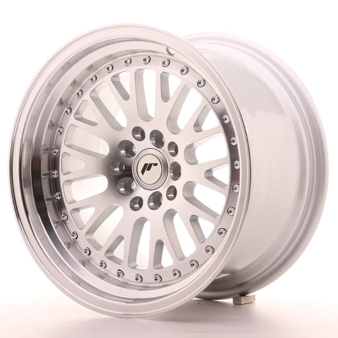 Japan Racing JR10 16x9 ET10 4x100/114 Machined Sil