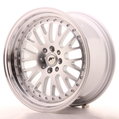 Japan Racing JR10 17x9 ET30 5x108/112 Machined Sil