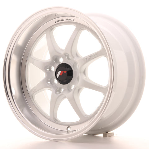 Japan Racing TF2 15x7.5 ET30 4x100/114 White