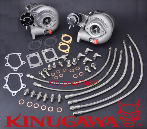 Kinugawa Twin Turbocharger Kit Bolt-On TD05H-16G for Nissan Skyline GT-R RB26DETT