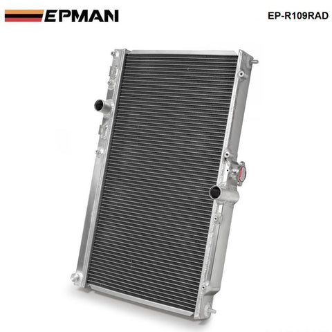 42MM 2 Row Aluminum Radiator For Mitsubishi Lancer EVO 7 8 9