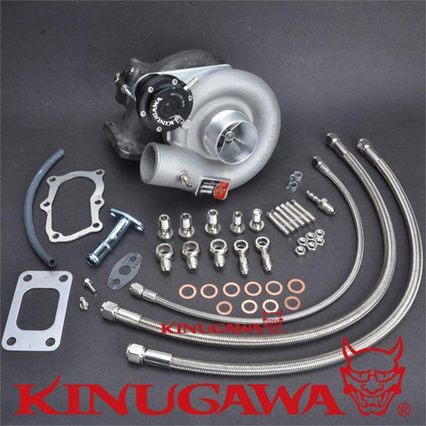 "Kinugawa Turbocharger Bolt-On 2.4"" TD05H-18G 10cm for Nissan Skyline RB20DET RB25DET"
