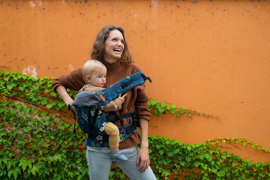 Benefits of Hip Carry Baby Wearing with Beco Baby Carriers