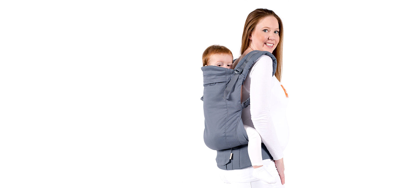 Beco Toddler - Toddler carrier offers a generously wide ergonomic seat and tall supportive back, built for kids 18+ months. Built-in waist pocket completes the package. Snap-on sleeping hood and zipper clutch included.